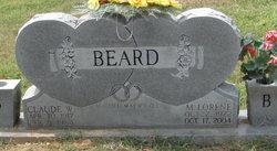 Claude W Beard