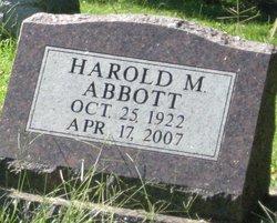 Harold M Abbott