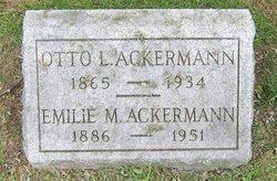 Otto L Ackermann