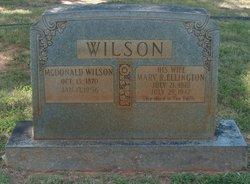 Mary R. <i>Ellington</i> Wilson