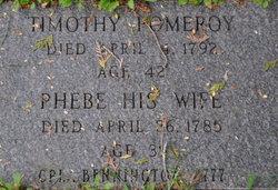 Phebe <i>Pomeroy</i> Pomeroy