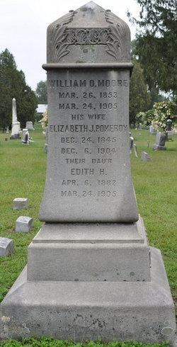 Elizabeth J <i>Pomeroy</i> Moore