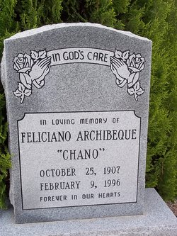 Feliciano Archibeque