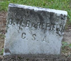 Corp GEORGE W BAREFIELD