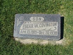 Edgar W Covington