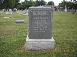 Sarah Jane Sallie <i>Julian</i> Foster
