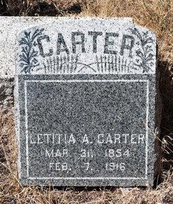 Letitia Ann <i>Porter</i> Carter