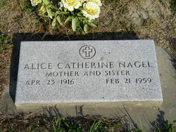 Alice Cathern <i>McCalmant</i> Nagel