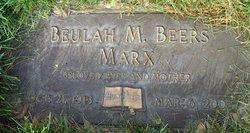 Beulah May <i>Beers</i> Marx