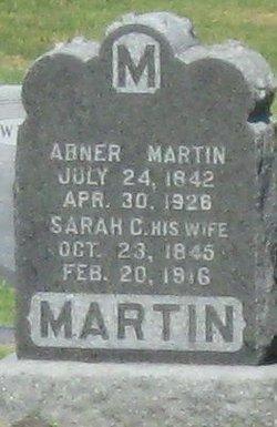 Sarah C <i>Hanson</i> Martin