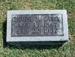 Ermine <i>Terrell</i> McCarty
