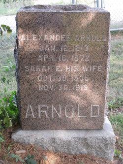 Sarah <i>Spates</i> Arnold