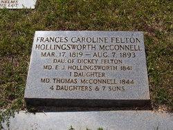 Frances Caroline <i>Felton</i> McConnell