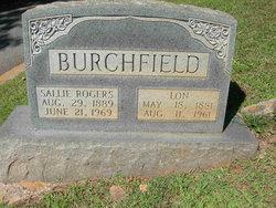 Alonzo M. Lon Burchfield
