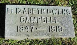 Elizabeth <i>Owens</i> Campbell
