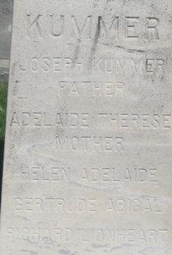 Adelaide Therese <i>Watson</i> Kummer