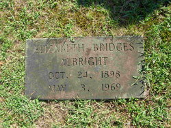 Elizabeth <i>Bridges</i> Albright