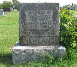 Sarah Susan <i>Baker</i> Newland