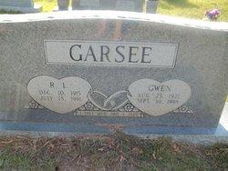 Gwendolyn Gwen <i>Reeves</i> Garsee