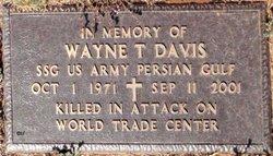 Sgt Wayne T. Davis
