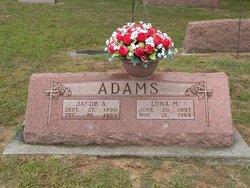 Lona May <i>Coffin</i> Adams