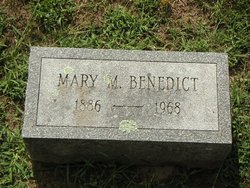 Mary Mildred May <i>Buckley</i> Benedict