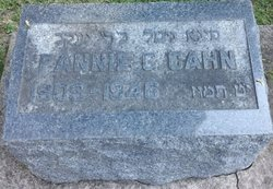 Fannie G <i>Zeldes</i> Cahn