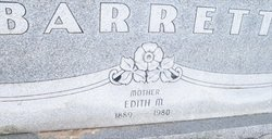 Edith M. <i>Clark</i> Barrett