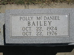 Polly <i>McDaniel</i> Bailey
