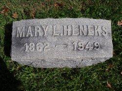 Mary Litzenberg <i>Leech</i> Heneks