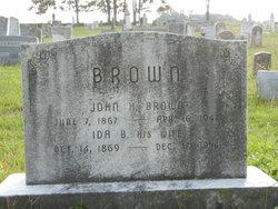 Ida Belle <i>Jones</i> Brown