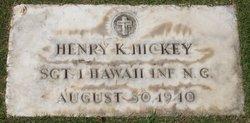 Henry K Hickey, Jr