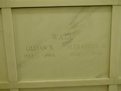 Lillian B <i>Hashagen</i> Wall