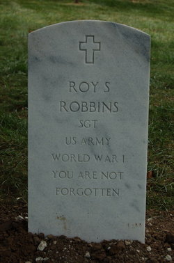 Sgt Roy S Robbins