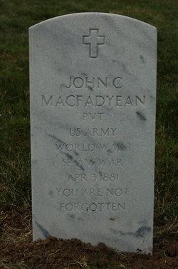 John C MacFadyean