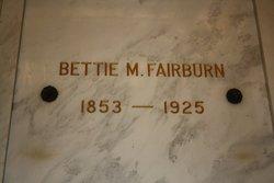Bettie Mitchell <i>Williams</i> Fairburn