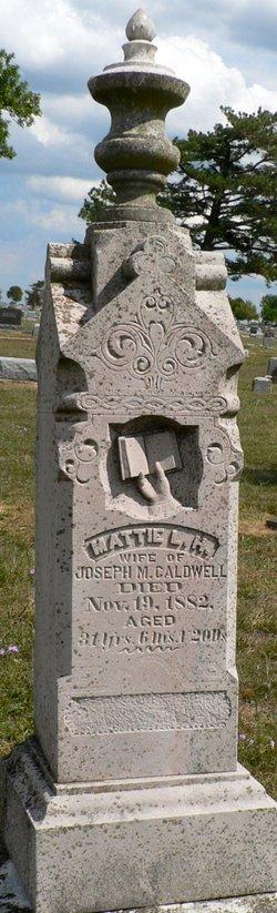 Mattie L. <i>Henry</i> Caldwell