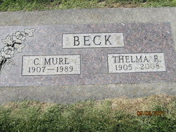 Thelma R <i>Thorson</i> Beck