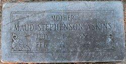 Maud <i>Stephenson</i> Askins