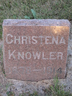 Christena <i>Moore</i> Knowler