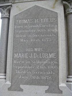 Marie J. <i>DeLorme</i> Theus