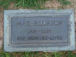 Mae Creswell Aldrich