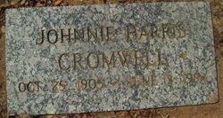 Johnnie Sue <i>Harris</i> Cromwell