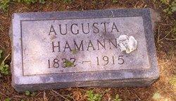 Augusta <i>Schulz</i> Hamann