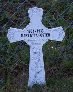 Mary Etta Foster