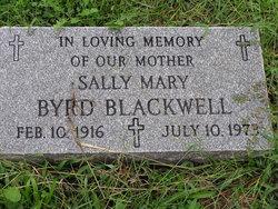 Sally Mary <i>Byrd</i> Blackwell