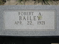 Robert A. Bailey