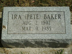 Ira Pete Baker