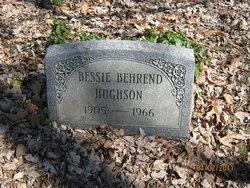 Bessie Alberta Hughson <i>Behrend</i> Arnold