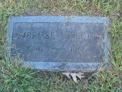 Ambrose Millette